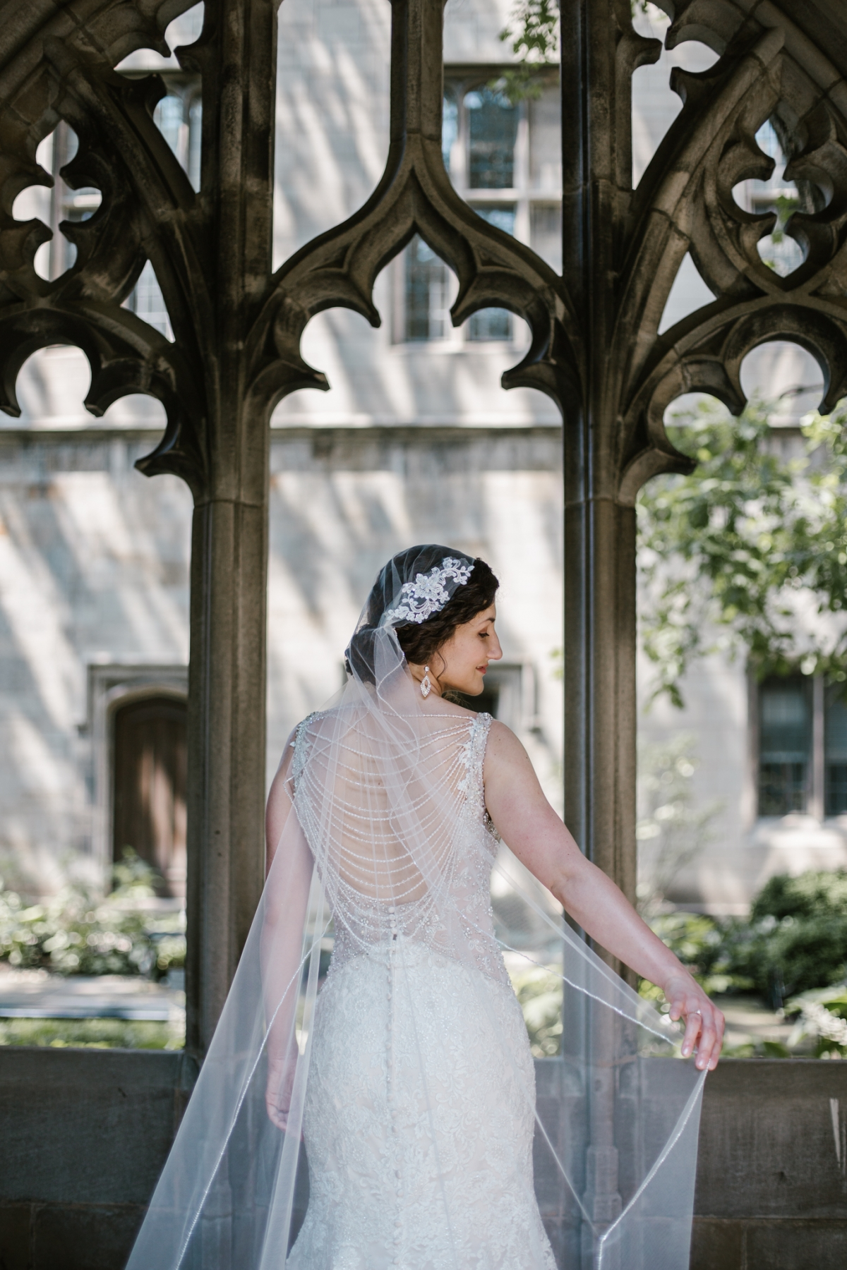 Rockefeller Chapel Wedding University of Chicago Vintage Chicago Wedding 15