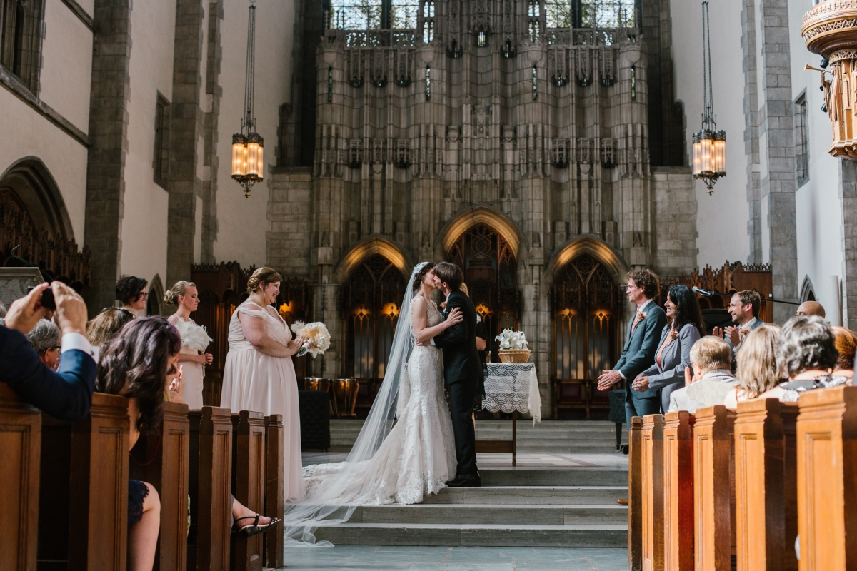 Rockefeller Chapel Wedding University of Chicago Vintage Chicago Wedding 20