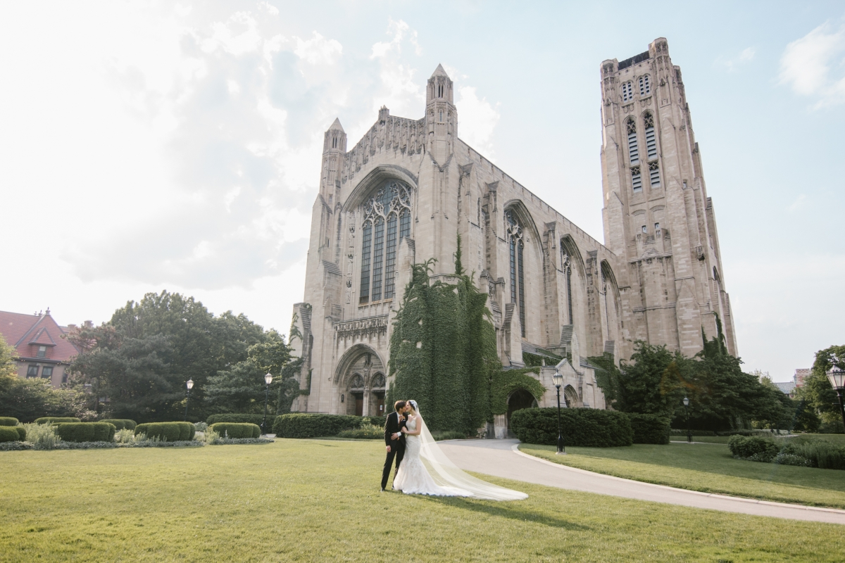 Rockefeller Chapel Wedding University of Chicago Vintage Chicago Wedding 21