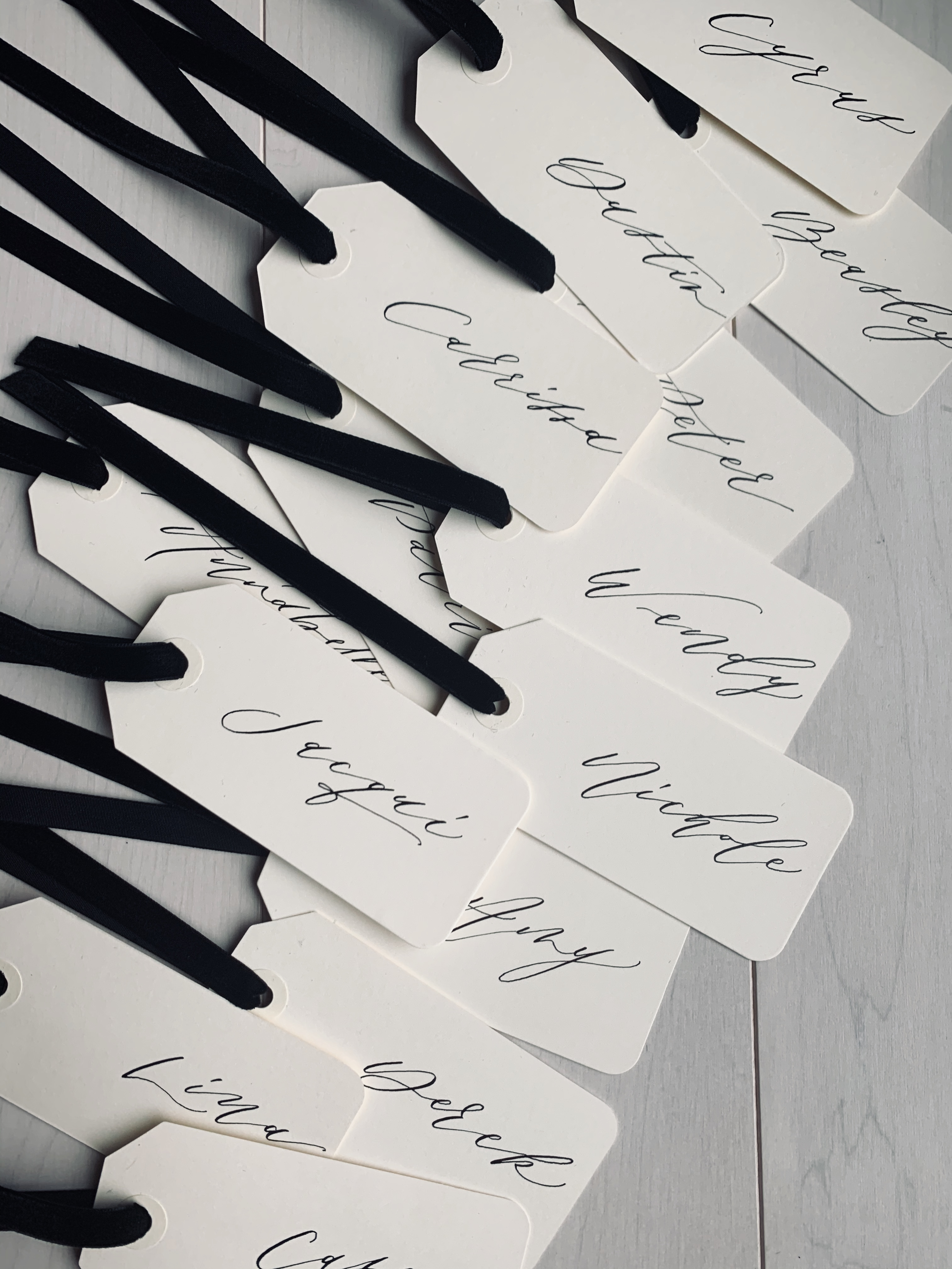 wedding favor tags gifts