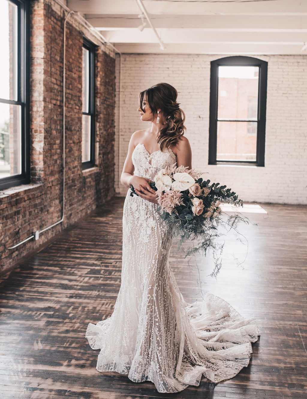 Chicago Boho Bridal Shoot Blush and Borrowed 25