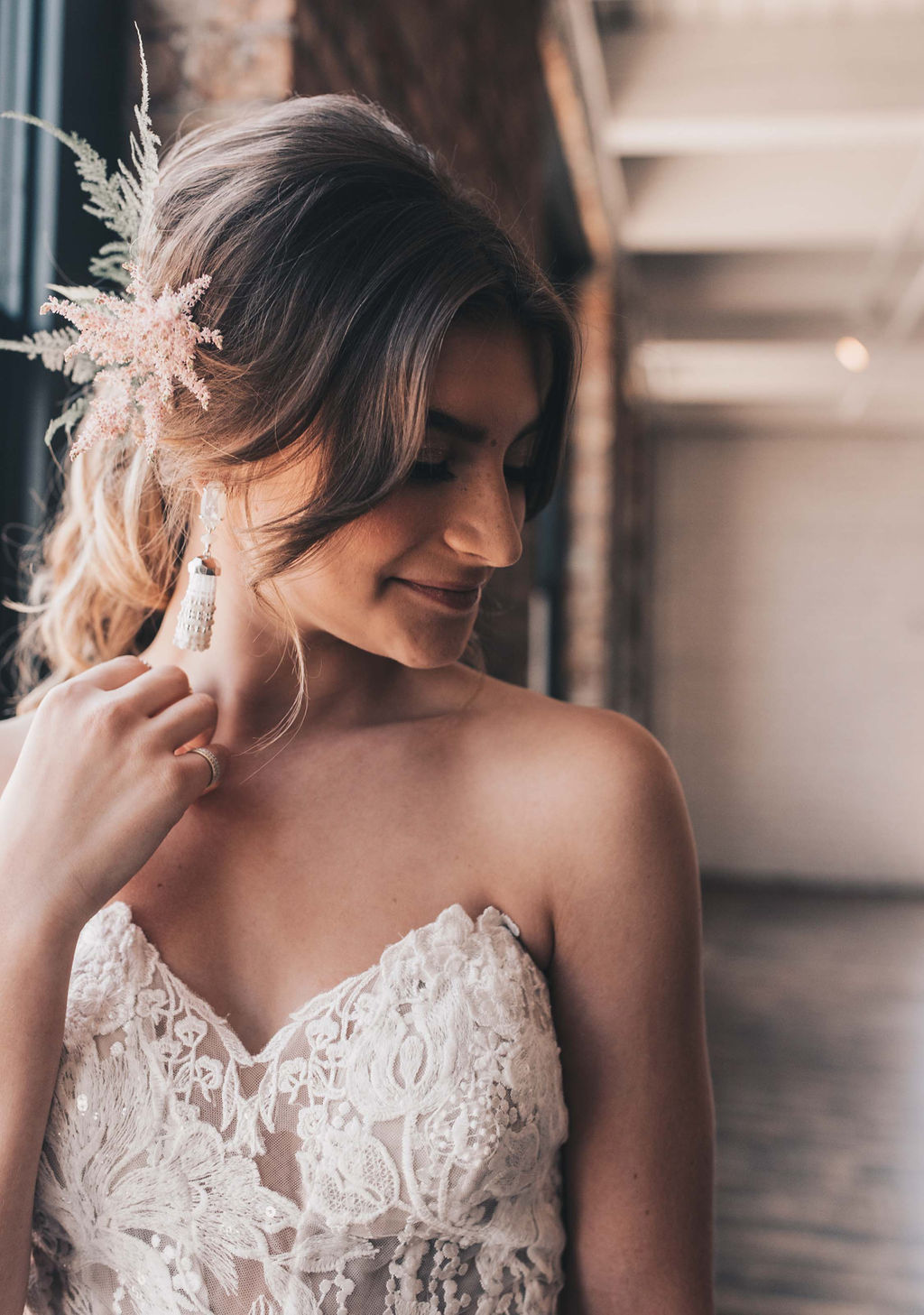 Chicago Boho Bridal Shoot Blush and Borrowed 26