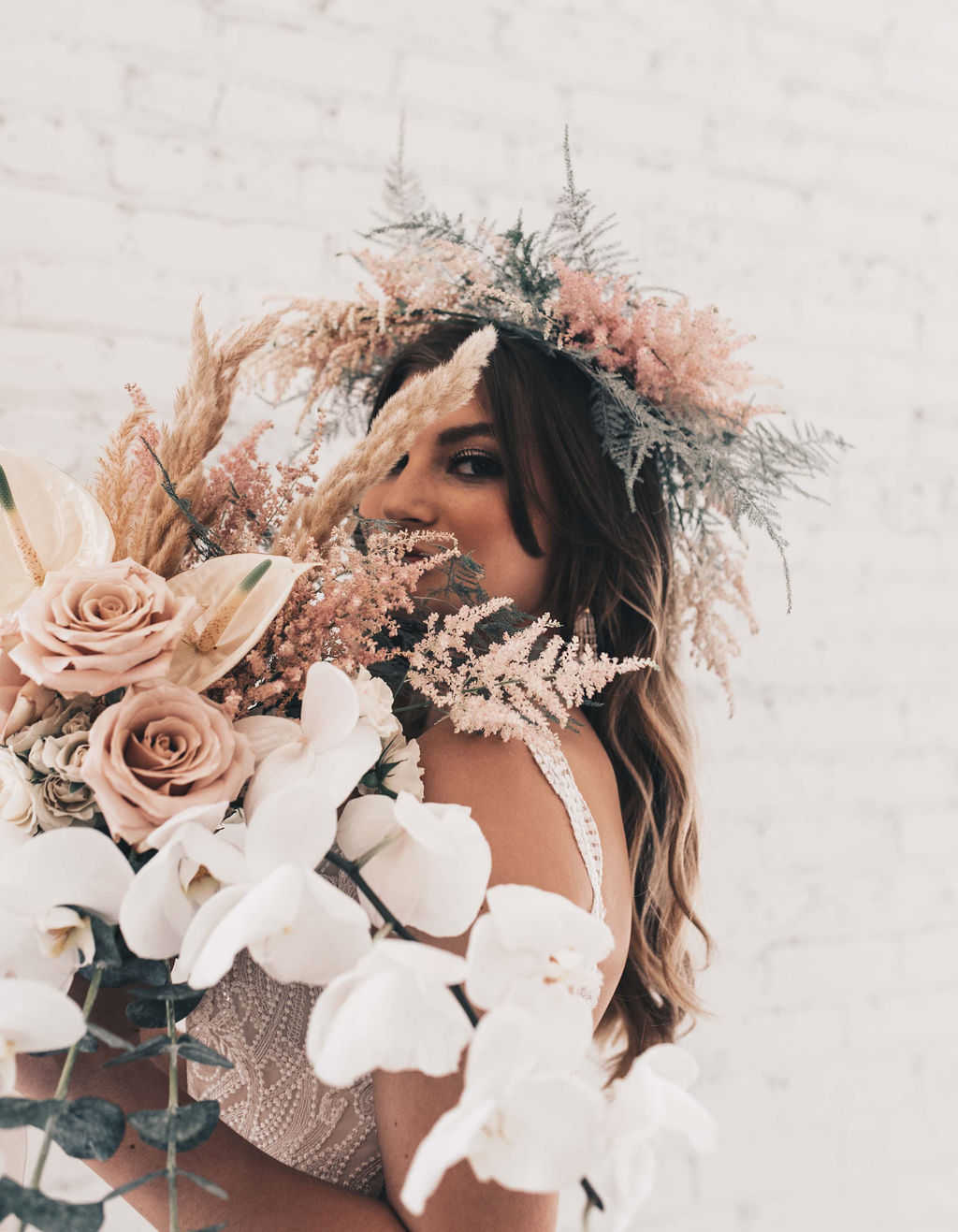 Chicago Boho Bridal Shoot Blush and Borrowed 37