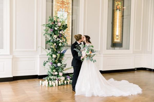 Chicago History Museum Wedding Inspiration (27)