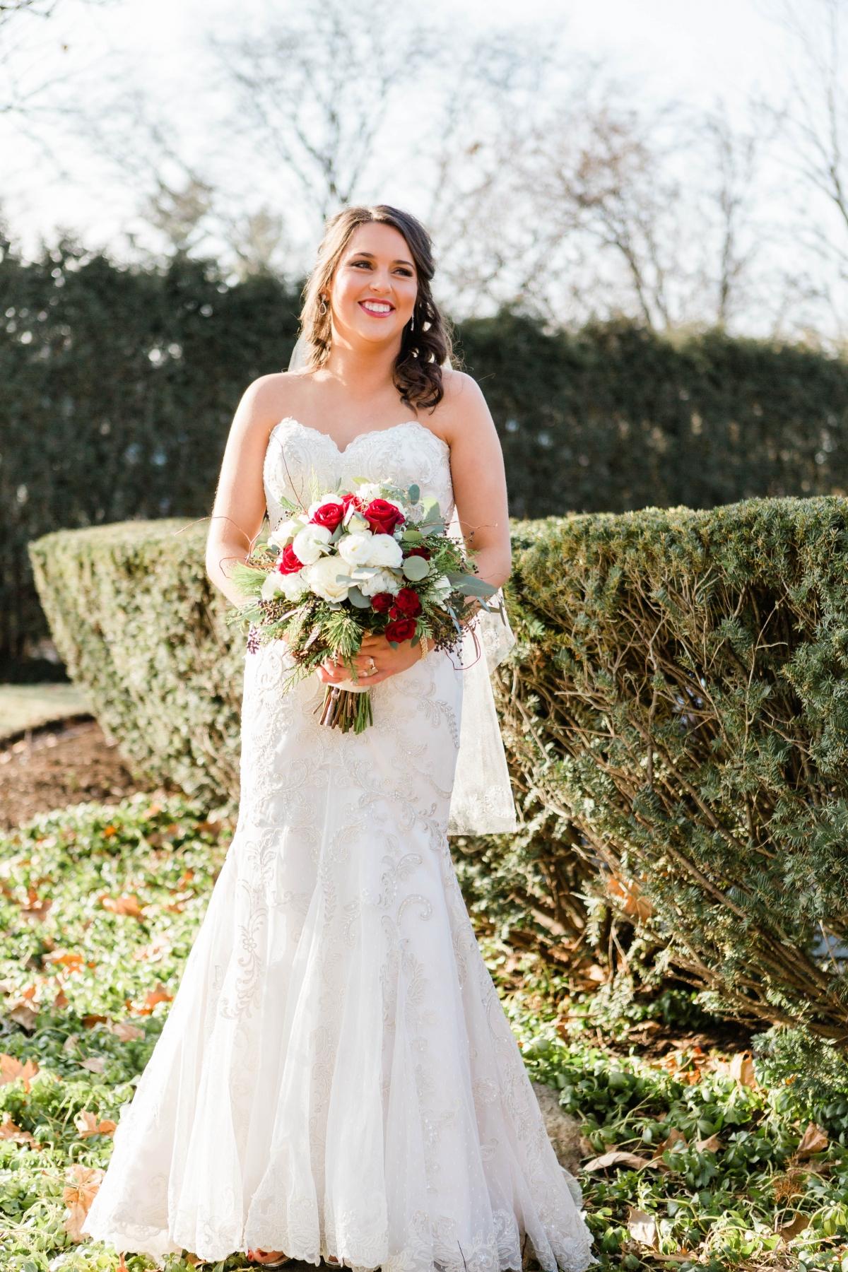 Bride in BriZan Couture
