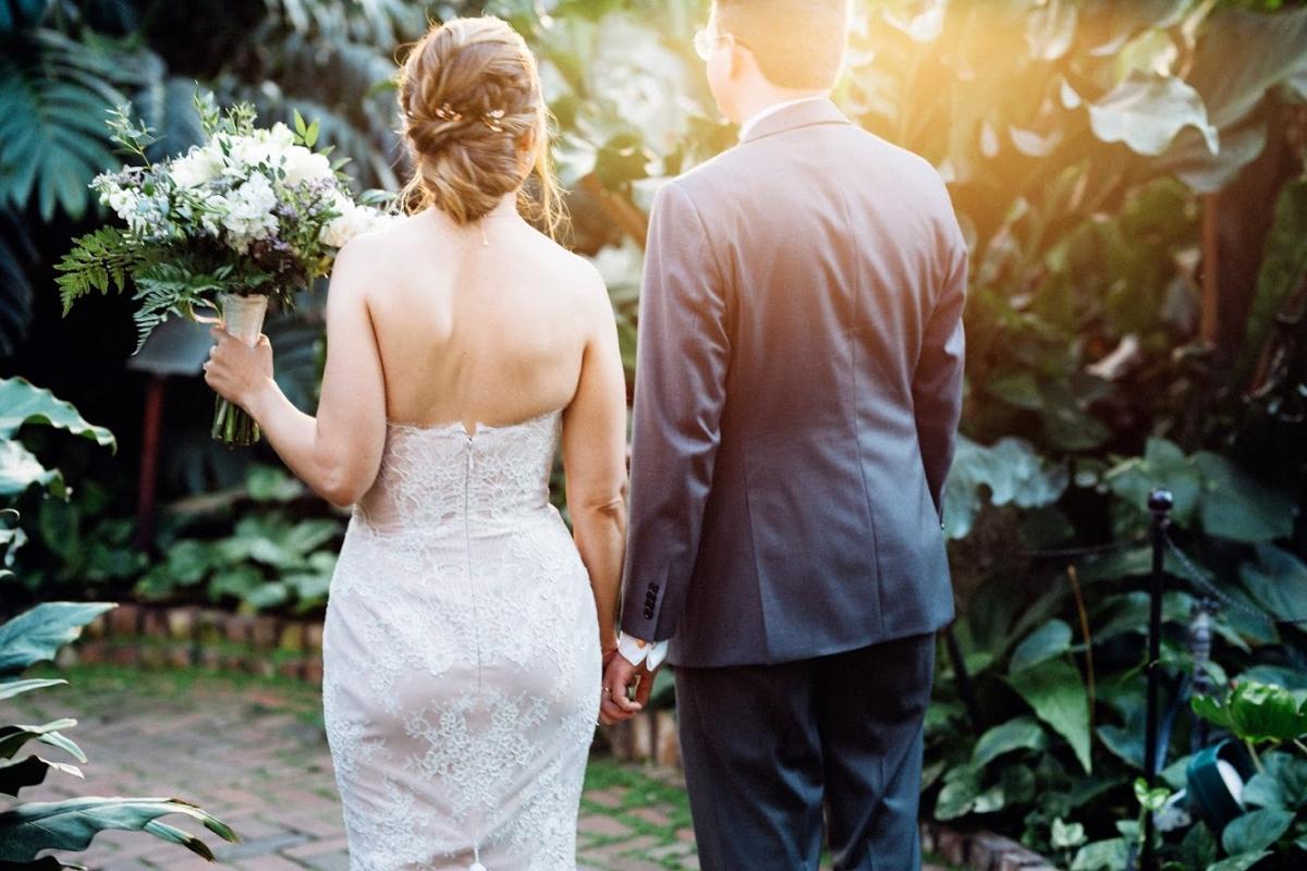 Garfield Park Conservatory Wedding 30