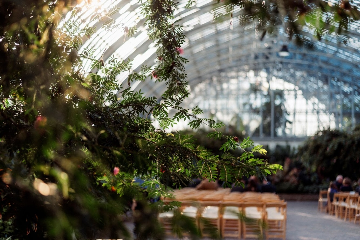 Garfield Park Conservatory Wedding 33