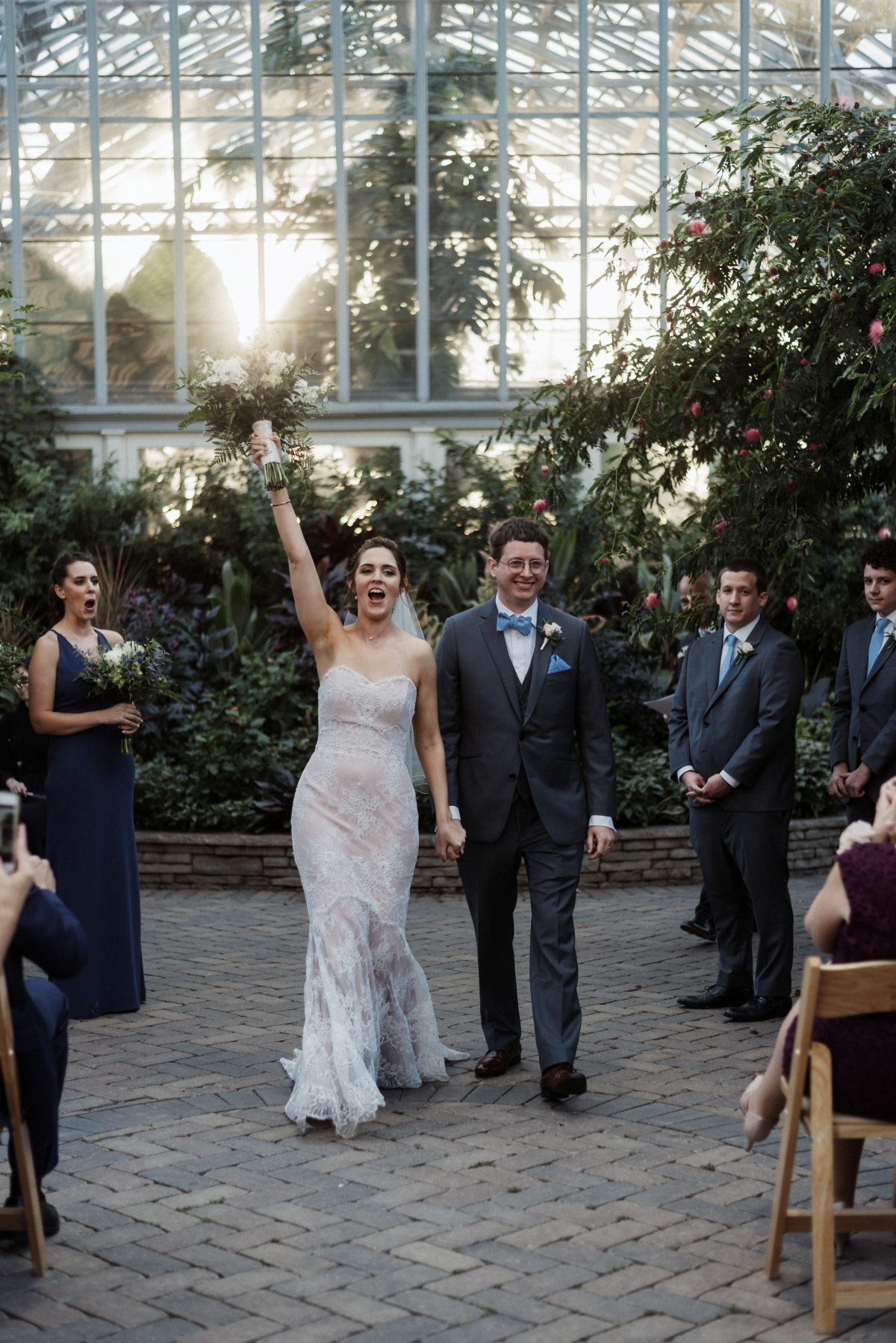 Garfield Park Conservatory Wedding 40