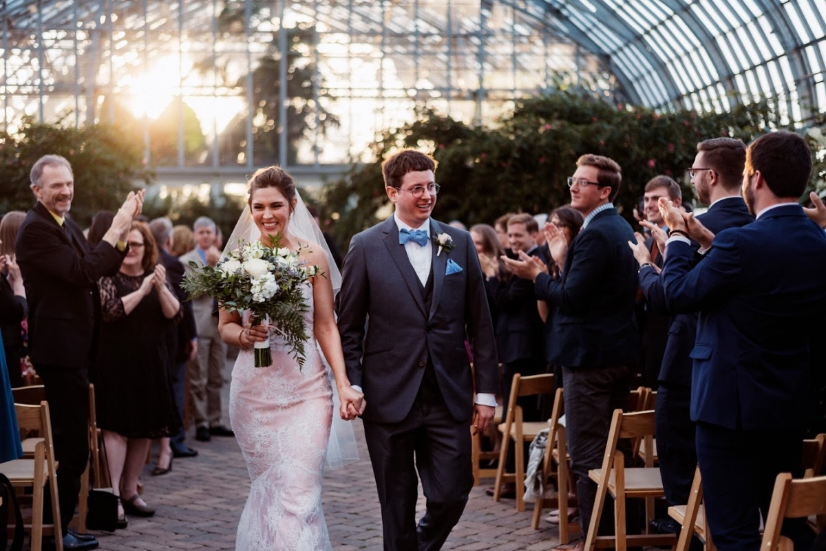 Garfield Park Conservatory Wedding 41
