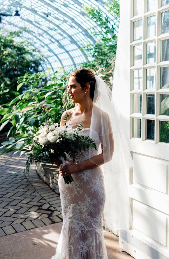 Garfield Park Conservatory Wedding 70