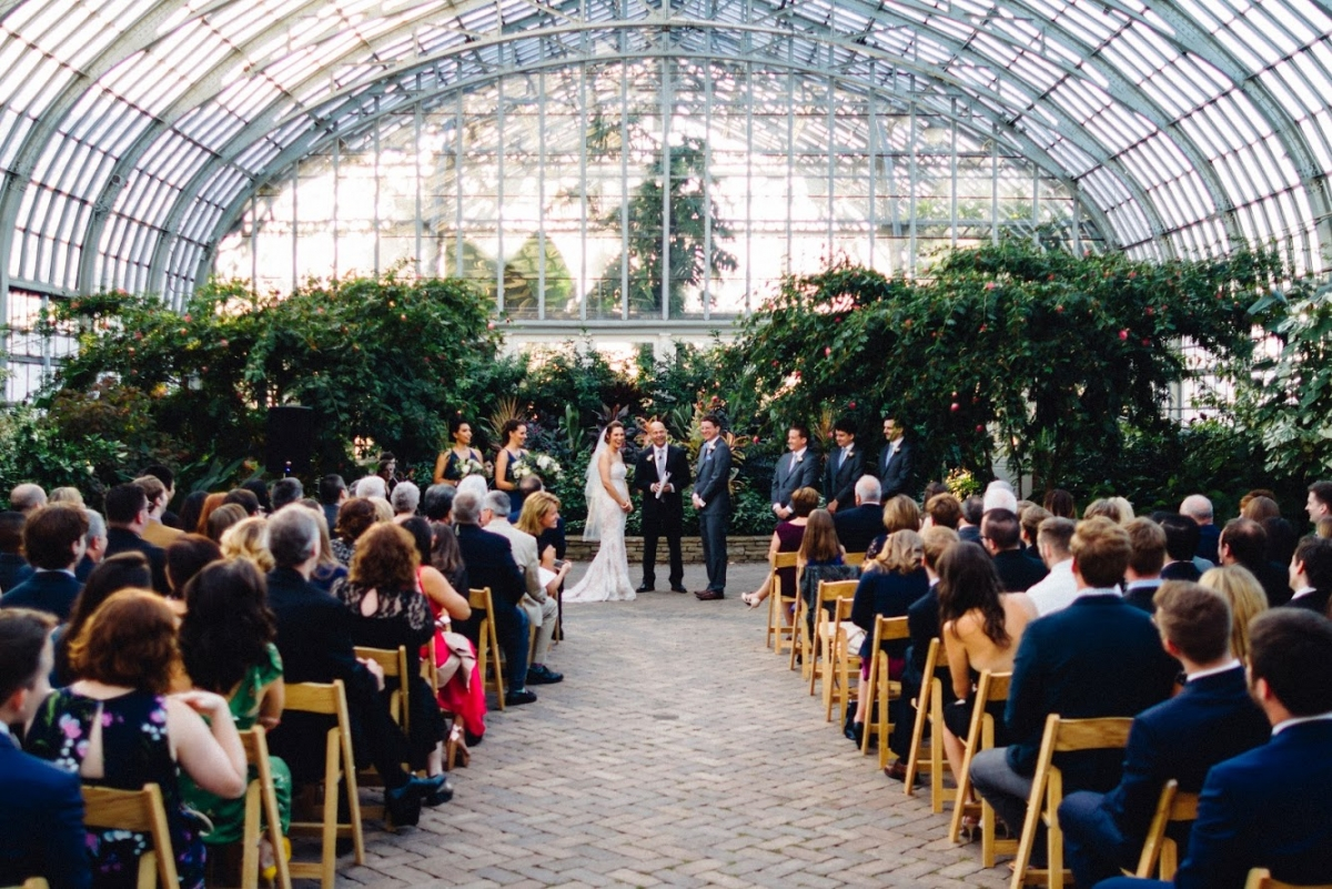 Garfield Park Conservatory Wedding 72