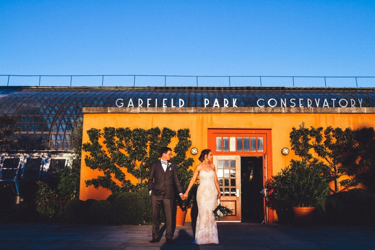 Garfield Park Conservatory Wedding 76