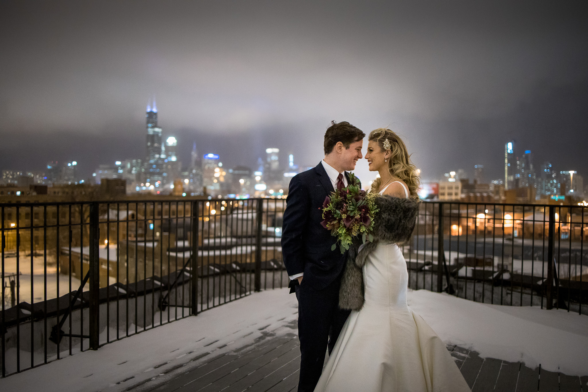 Winter Wedding in Chicago