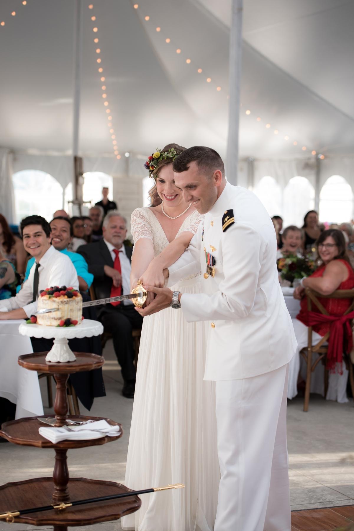 Military Wedding Rebecca Marie Photo 46