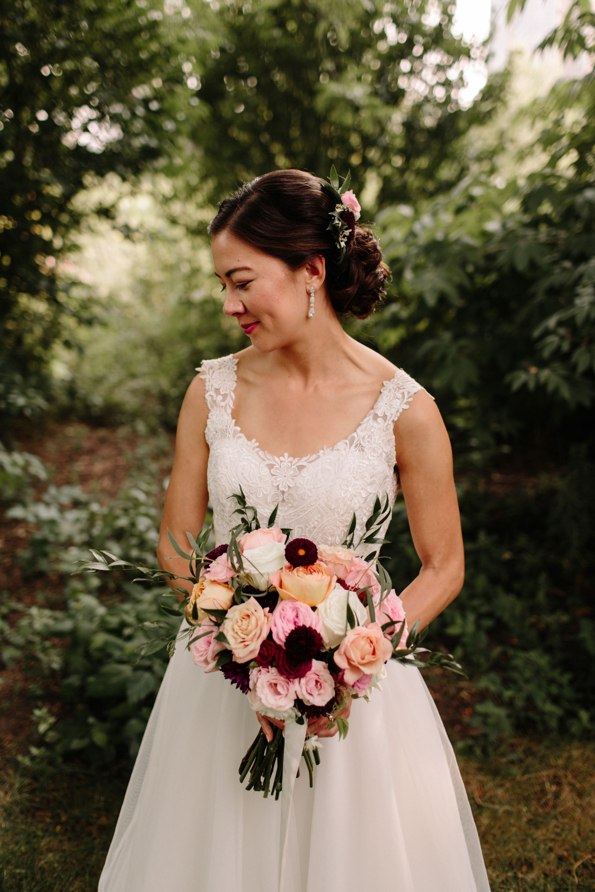 Chicago Bride at Newberry Library Wedding