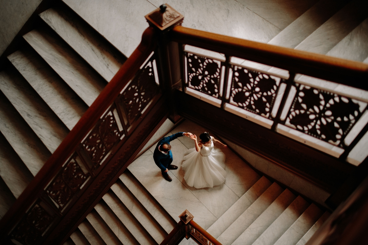 Newberry Library Chicago Wedding from Clover Events