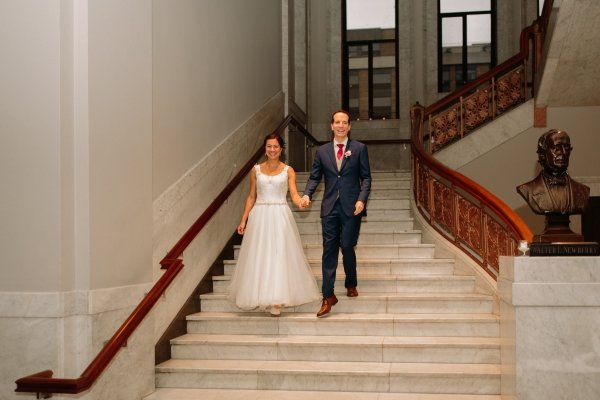 Newberry Library Chicago Wedding from Clover Events (62)