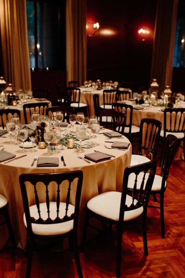 Chicago Newberry Library Wedding Reception