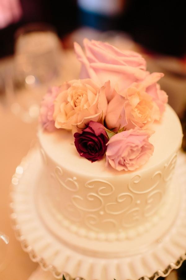 Petite Wedding Cake for Cutting