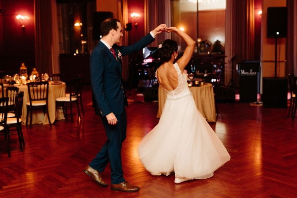 Newberry Library Chicago Wedding from Clover Events (69)