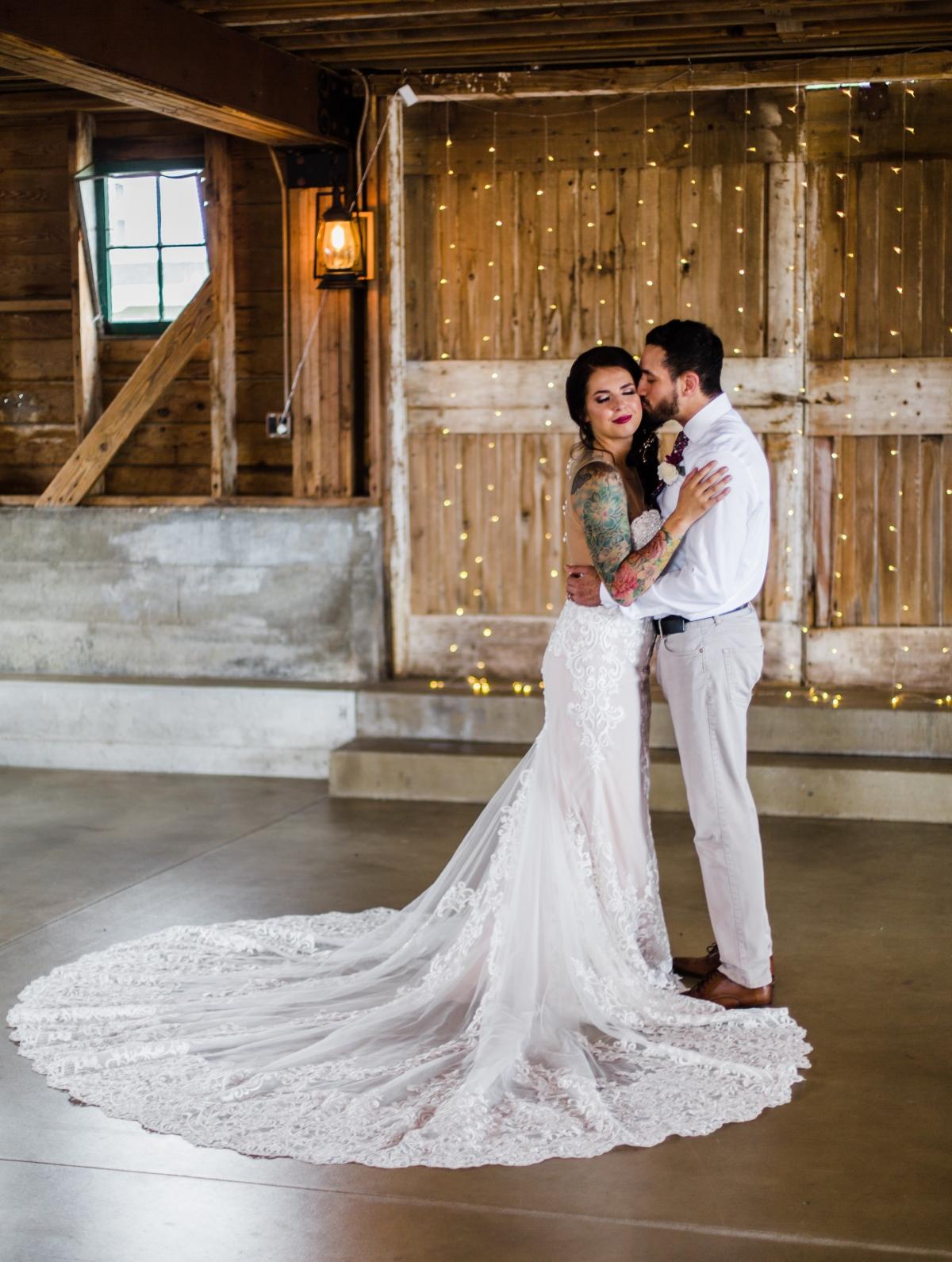 Chicago Barn Wedding Ashley Farms
