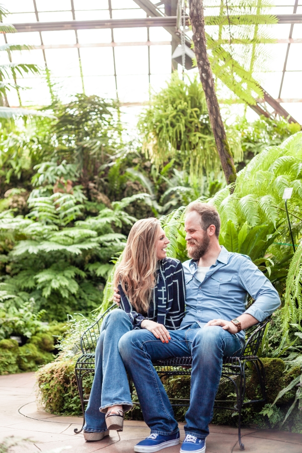 Lincoln Park Conservatory Engagement Session (11)