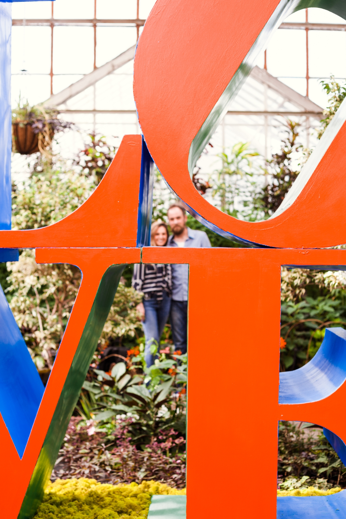 Lincoln Park Conservatory Engagement Session 13