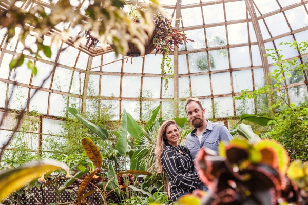 Lincoln Park Conservatory Engagement Session (15)