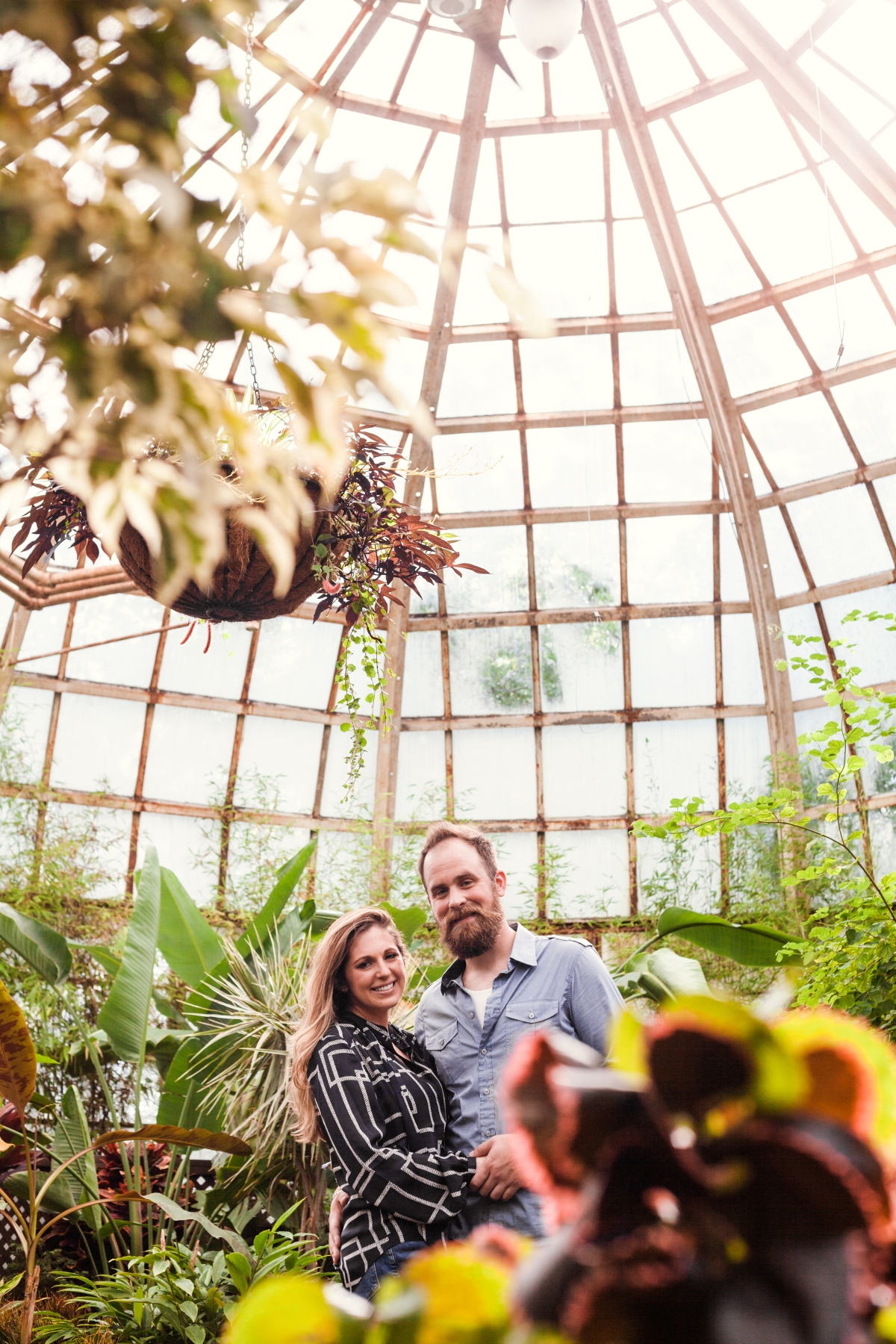 Lincoln Park Conservatory Engagement Session 17