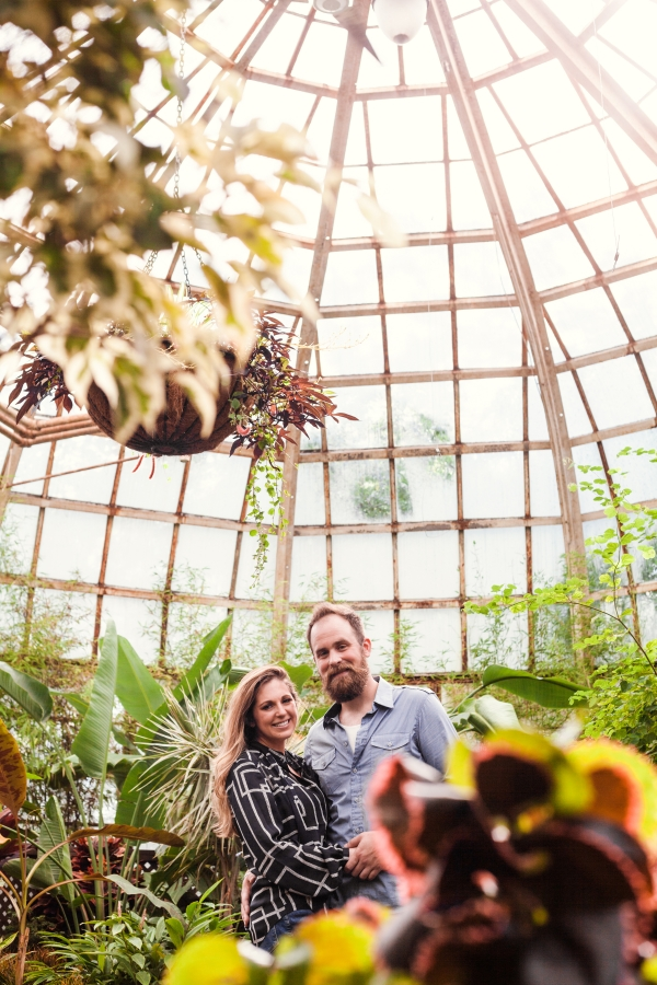 Lincoln Park Conservatory Engagement Session (17)
