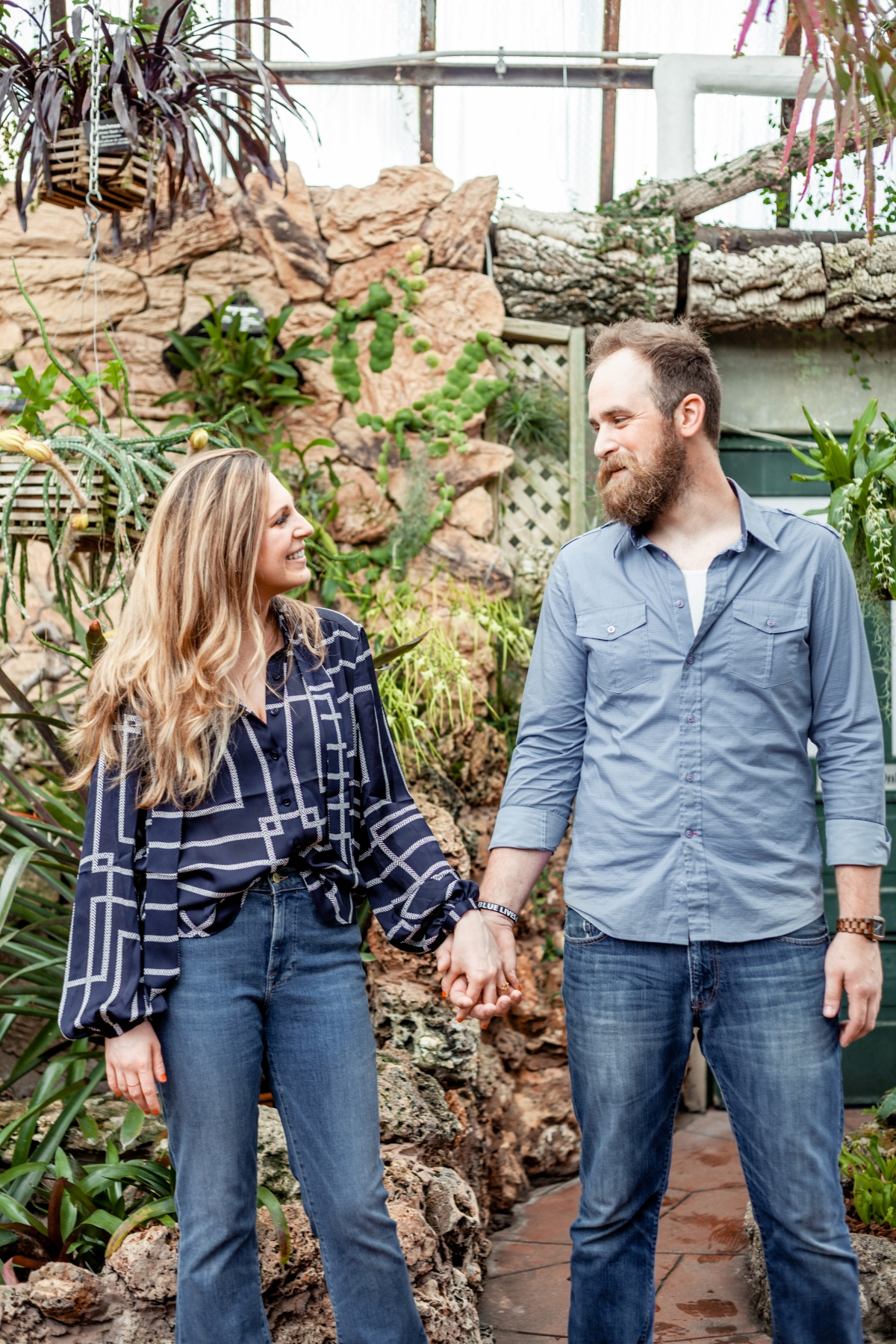 Lincoln Park Conservatory Engagement Session 19