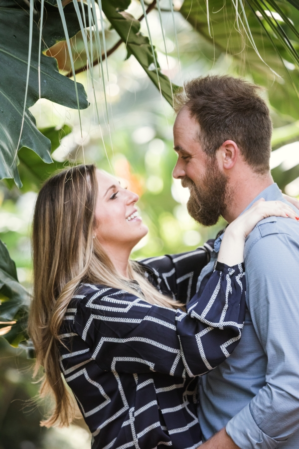 Lincoln Park Conservatory Engagement Session (2)