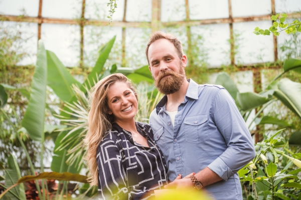 Lincoln Park Conservatory Engagement Session (20)