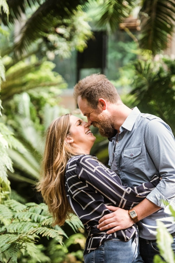 Lincoln Park Conservatory Engagement Session (25)