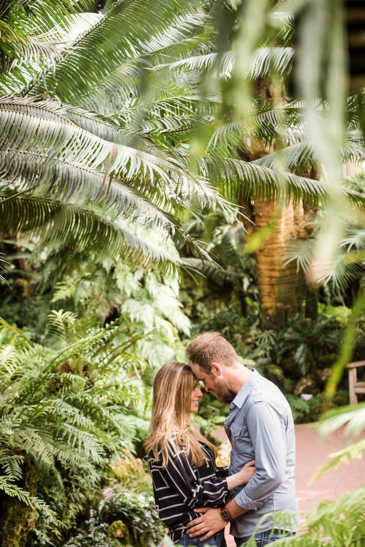 Lincoln Park Conservatory Engagement Session 27