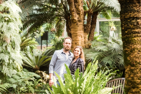 Lincoln Park Conservatory Engagement Session (28)