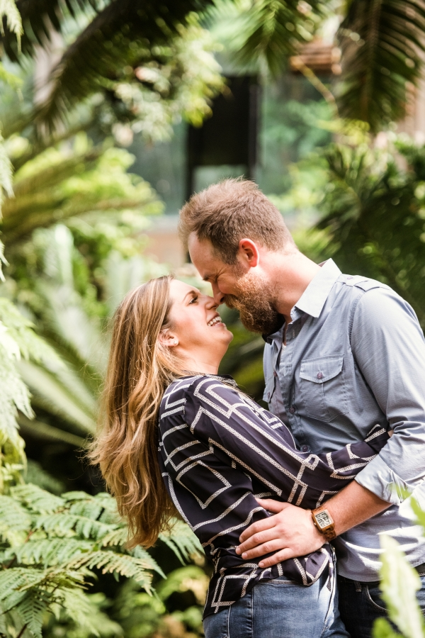 Lincoln Park Conservatory Engagement Session (29)