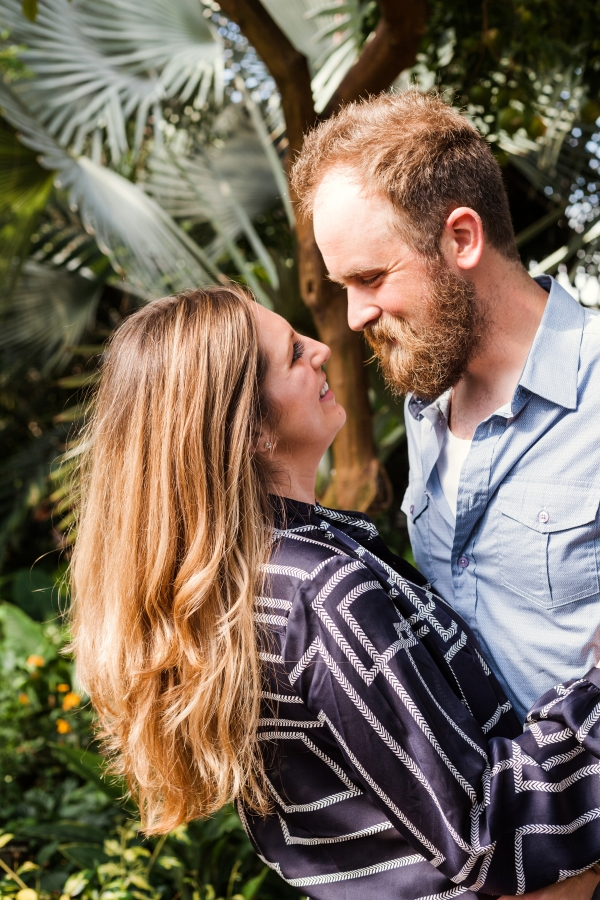 Lincoln Park Conservatory Engagement Session (31)