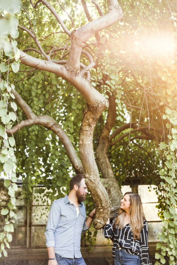 Lincoln Park Conservatory Engagement Session (33)