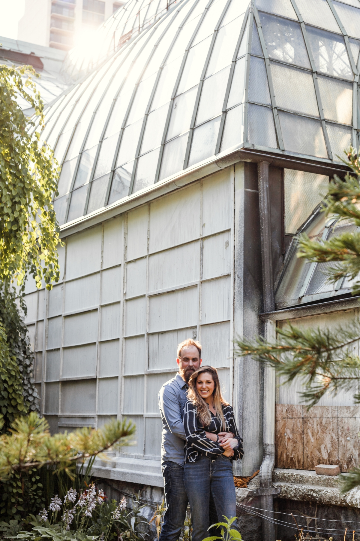 Lincoln Park Conservatory Engagement Session 35