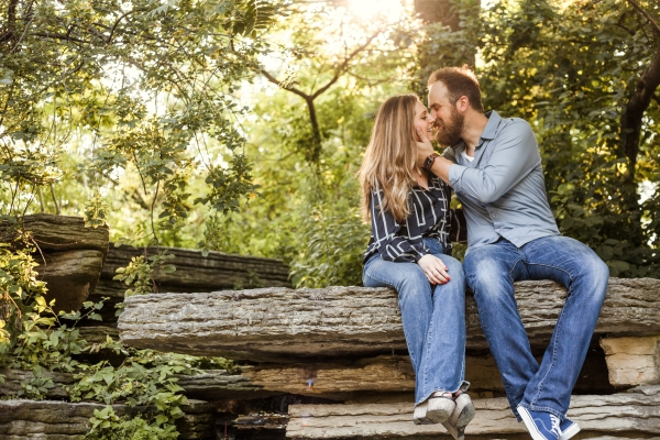 Lincoln Park Conservatory Engagement Session (39)