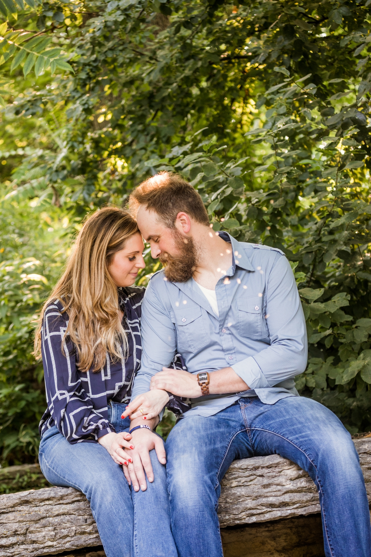 Lincoln Park Conservatory Engagement Session 46