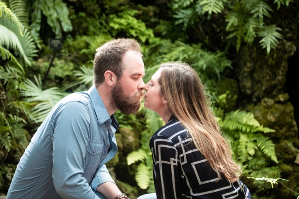 Lincoln Park Conservatory Engagement Session (6)