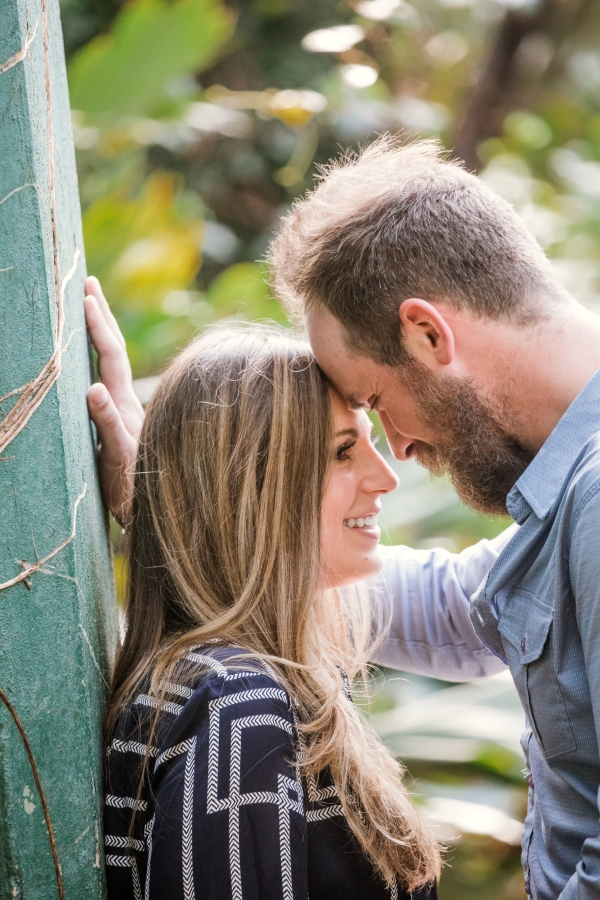 Lincoln Park Conservatory Engagement Session (8)