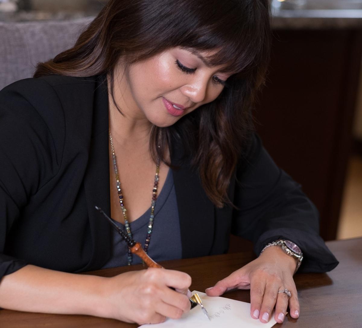 Nerissa B Modern Calligraphy