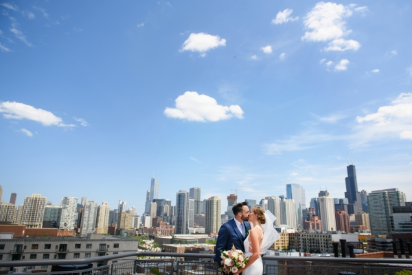 West Loop Wedding at Galleria Marchetti