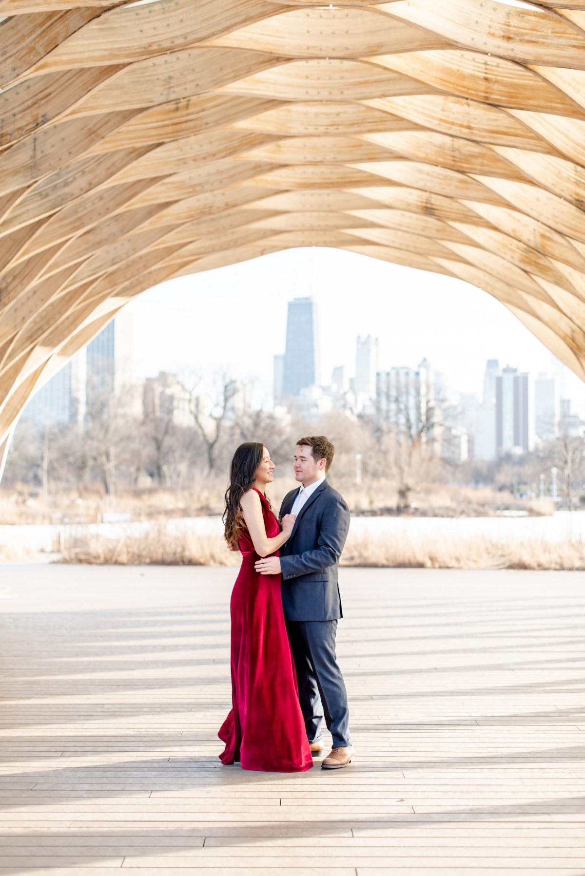Chicago Lincoln Park Engagement Session Ashlee Cole