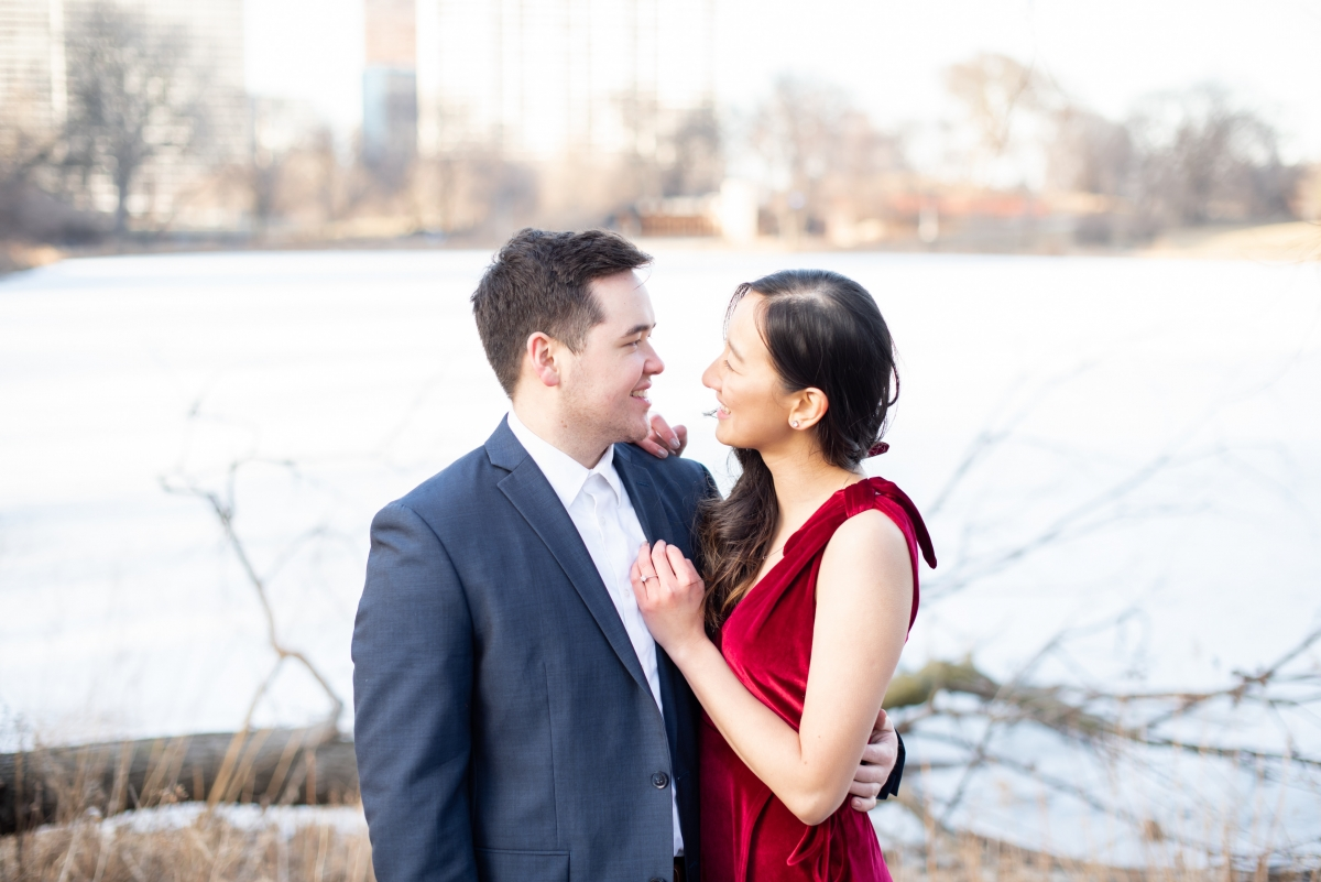 Chicago Lincoln Park Engagement Session Ashlee Cole 20