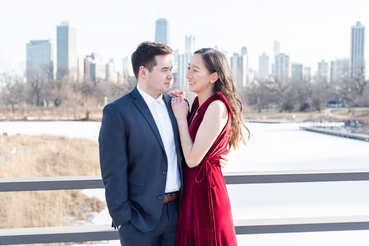 Chicago Lincoln Park Engagement Session Ashlee Cole 8