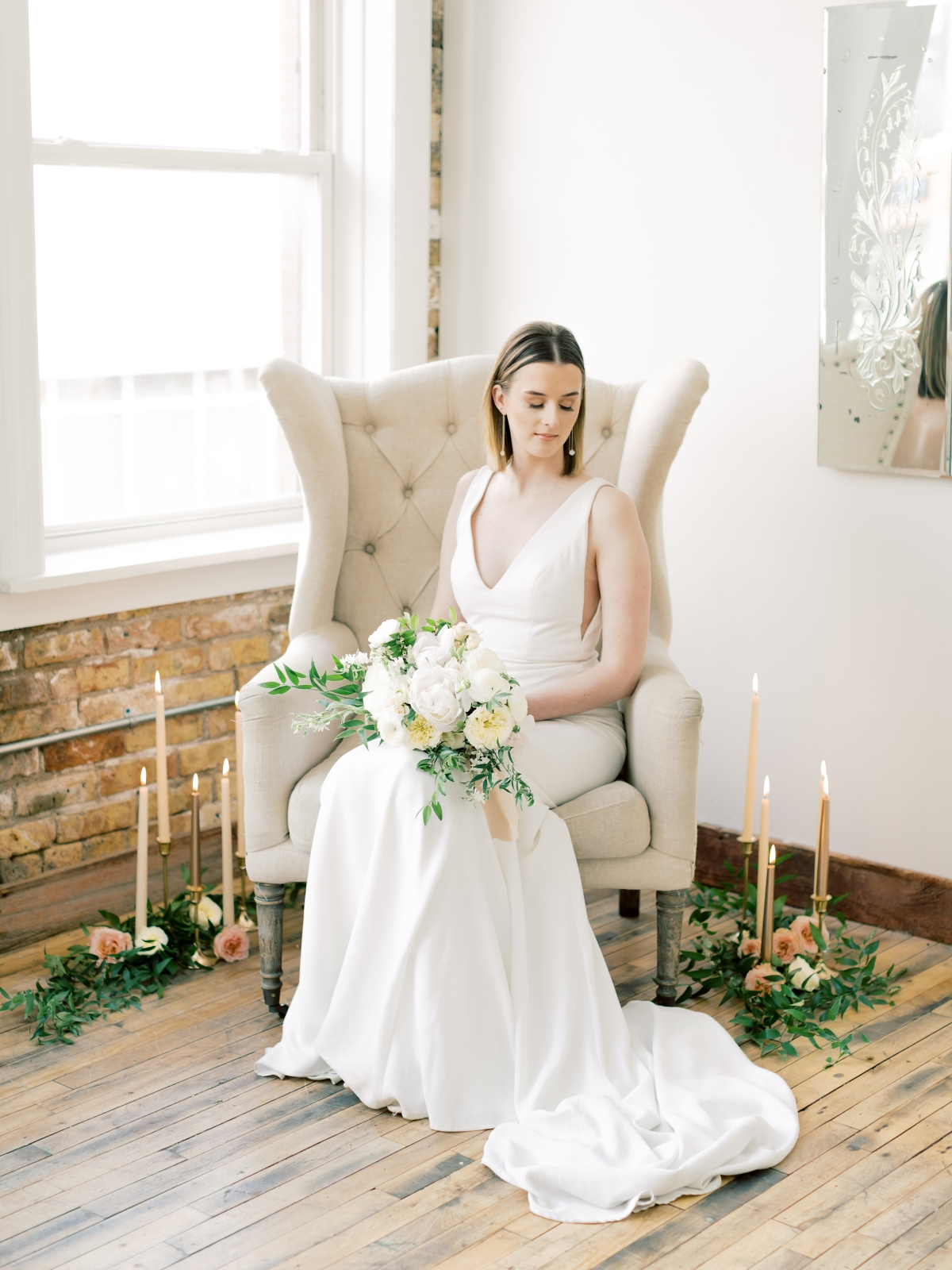 Chicago Loft Bridal Inspiration